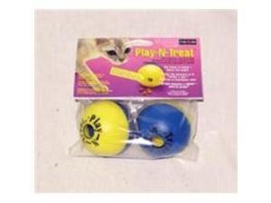 Ourpet Company Pet Play-N-Treat Ball 2Pk