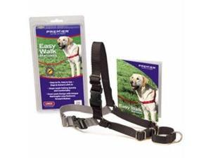 PetSafe/Premier Pet Easy Walk Harness Medium Black/Silver