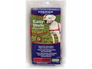 Easy Walk Harness Red/Cranberry Medium