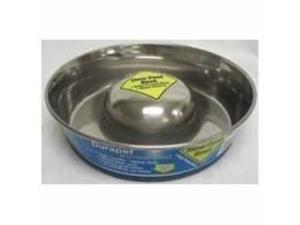 Ourpets Company Slow Feed Stainless Steel Bowl, Medium - PB-10191