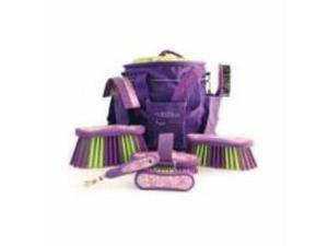 Luckystar Grooming Kit Purple 9 Piece
