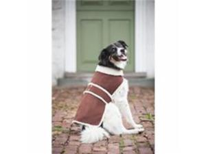 Ethical Pet Shearling Dog Coat, Brown, Extra Large - 751197
