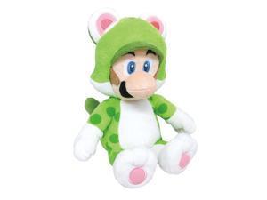 World Neko Cat Luigi Super Mario World 3D 13 Inch Sanei Plush