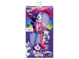 Rarity Equestria Girls My Little Pony Neon Rainbow Rocks Doll