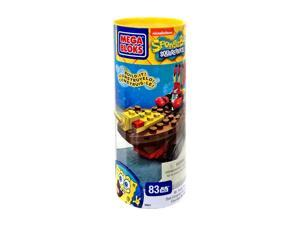 Mr. Krabs Racer SpongeBob Squarepants Mega Bloks Figure