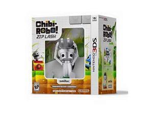 Chibi-Robo! Zip Lash + Chibo-Robo amiibo 3DS Video Game Bundle