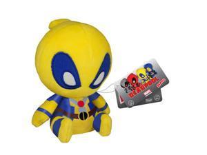 Deadpool Yellow X-Men Mopeez Marvel Plush