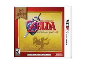 The Legend of Zelda: Ocarina of Time 3D Nintendo Selects 3DS Video Game