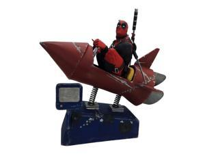 Deadpool Rocket Ride Premium Motion Limited Edition Statue