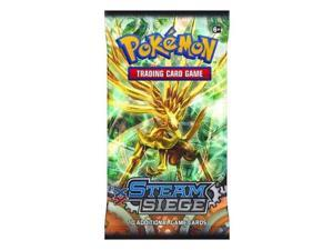 Pokemon Steam Siege Trading Card Game Booster Pack
