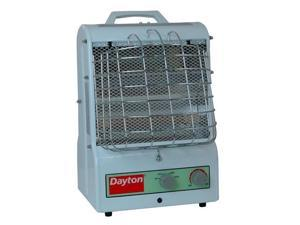 DAYTON 3VU31 Electric Space Htr, Fan Forced/Radnt, 120V