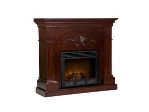Southern Enterprises FE9277 Sicilian Harvest Electric Fireplace - Mahogany