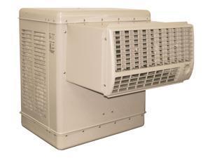 Window Evaporative Cooler, 3500 cfm, 1 HP