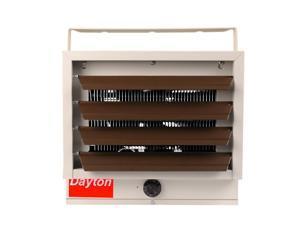 DAYTON, 3UG73, Electric Utility Heater,5/4.1/3.3/2.5 kW,208/240V