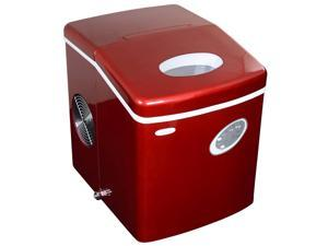 NewAir AI-100R 28-Pound Portable Ice Maker - Red
