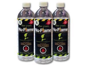 Nu-Flame NF-BIOETH3L Liquid Ethanol Fuel 3 Pack