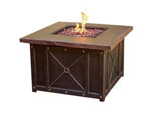 Cambridge CLASSIC1PCFP 40 In. Square Gas Fire Pit with Durastone Top