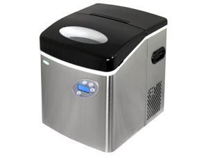 Newair AI-215SS Stainless Steel Portable Ice Maker - 50 Lbs. Daily Capacity