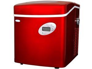 Newair AI-215R Red Portable Ice Maker - 50 Lbs. Daily Capacity