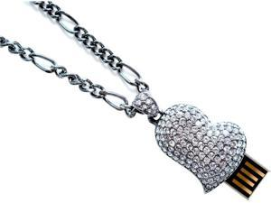 Pretec i-Disk Sparkling Amour Swarovski Elements 4GB USB Flash Drive