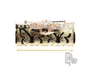 [Queenwoods] Lady's  Evening Bag : butterfly lock