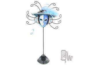 [Queenwoods] Phantom Of The Opera Leopard Hat Mask Style Jewelry holder : half color