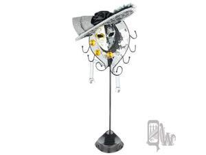 [Queenwoods] Phantom Of The Opera Hat Mask Style Jewelry holder : half color