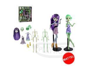 Monster High Create-A-Monster : Mummy and Gorgon Girls Starter Pack