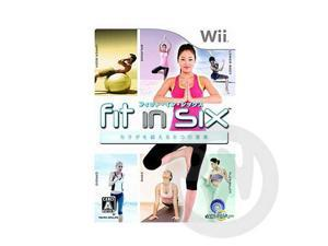 [Wii Game] Fit in Six _ JP Asia version