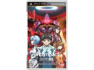 [PSP Game] EVANGELION 3nd Impact (Hardback edition) _ JP Asia version