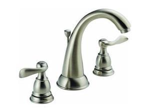 Delta B3596LF-SS Windemere 8 in. Widespread 2-Handle High Arc Bathroom Faucet in