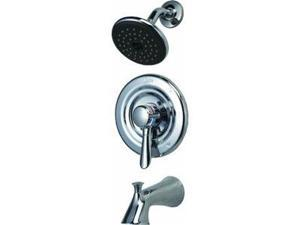 Delta Chrome Tub And Shower Faucet