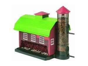 Artline 6290 Red Barn Combo Bird Feeder