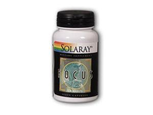 Focus for Adults - Solaray - 60 - Capsule