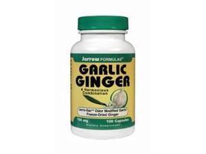 Garlic + Ginger - Jarrow Formulas - 100 - Capsule