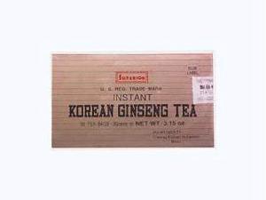 Korean Ginseng Instant Tea Bag - Superior Trading Company - 30 - Bag