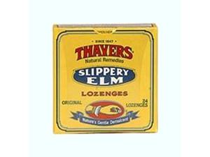 Lozenge-Slippery Elm Original - Thayer - 42 - Lozenge