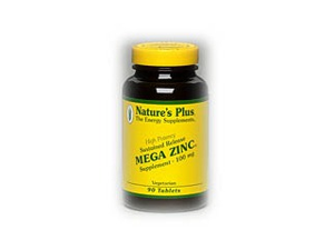 Mega Zinc 100mg Time Release - Nature's Plus - 90 - Sustained Release Tablet