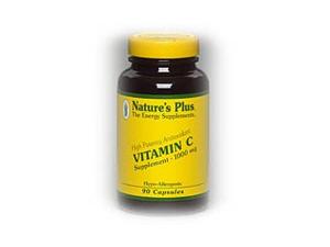 Vitamin C 1000mg - Nature's Plus - 180 - Capsule