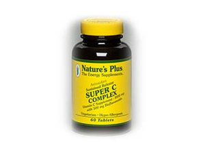 Super C Complex Time Release - Nature's Plus - 60 - Sustained Release Tablet