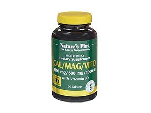 Cal/Mag/Vit D3 - Nature's Plus - 90 - Tablet