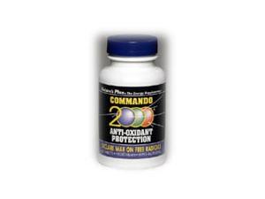 Commando 2000 Antioxidant Protection - Nature's Plus - 60 - Tablet