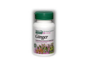 Ginger Extract 250mg - Nature's Plus - 60 - Capsule
