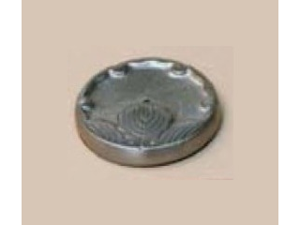 Incense Holder - Round Pewter - Maroma - 1 - Holder
