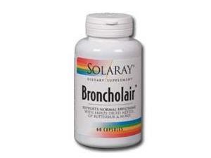 Broncholair - Solaray - 60 - Capsule