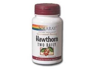 Hawthorn Two Daily 300mg - Solaray - 60 - Capsule