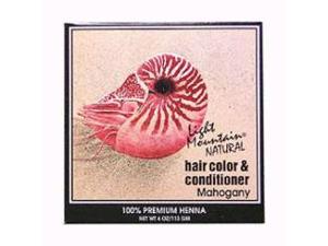Hair Color & Conditioner- Mahogany - Light Mountain - 4 oz - Powder