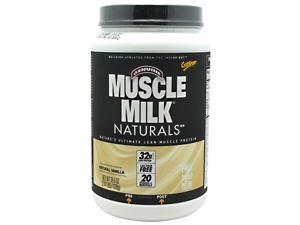 Muscle Milk Naturals Vanilla Cream - Cytosport - 2.47 lbs - Powder