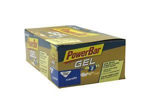 PowerGel - Vanilla Box - Powerbar - 24 Packets - Box
