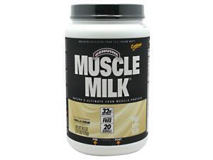 Muscle Milk Vanilla Creme - 2.47 lbs (39.5 oz / 1120 Grams) by CytoSport